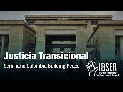 Colombia: Building Peace - Eduardo Montealegre Lynett