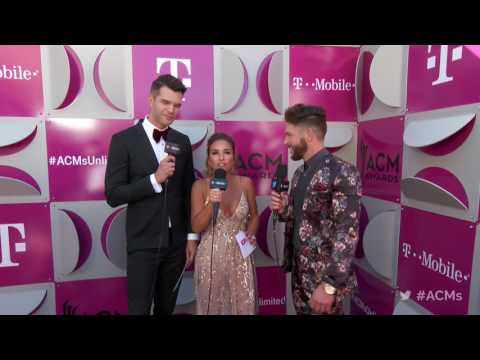2017 ACM Awards: Chris Lane Red Carpet Interview