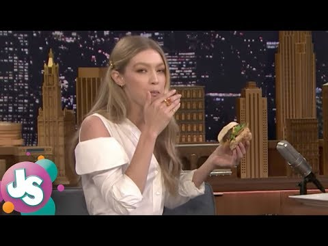 Does Gigi Hadid REALLY Eat Burgers as Much as She Says? - JS