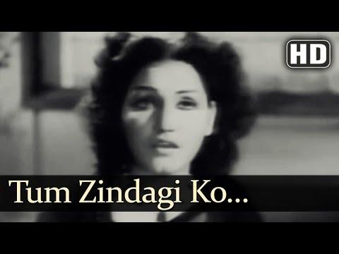 Tum Zindagi Ko Gum Ka   Dupatta Songs   Noor Jahan   Ajay Kumar   Sad   Filmigaane