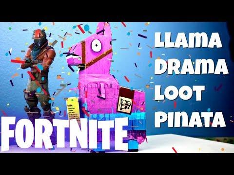 Jazwares Fortnite Llama Drama Loot Pinata Unboxing