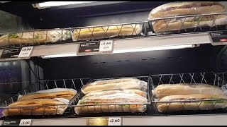 Фаст фуд в Лондоне, закусочная Греггс (Greggs), бутерброды, цены.(, 2017-01-25T20:08:37.000Z)