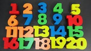 Aprendendo a Contar os Números de 1 a 20 | Como Ensinar os Numerais para Crianças | Brink & Aprenda