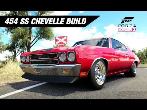Supercharged Chevelle Ss Build Forza Horizon Youtube