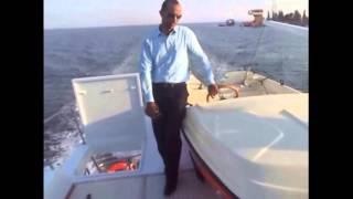 قناة السويس الجديدة : مؤسس قناة السويس الجديدة يقود اليخت الرئاسي فى قناة السويس