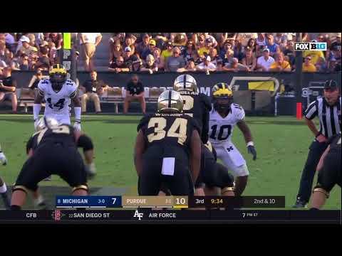 2017 Michigan Football Highlights @ Purdue