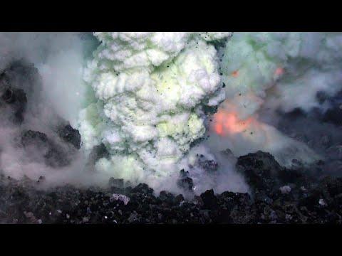 The Active Volcano in Greece; Kolumbo