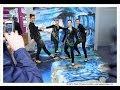 streetart strassenmalerei 3d gemaelde livegemaelde messe