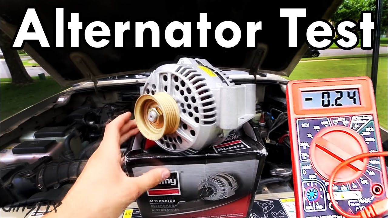 medium resolution of how to test an alternator