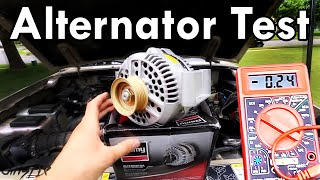 How to Test an Alternator