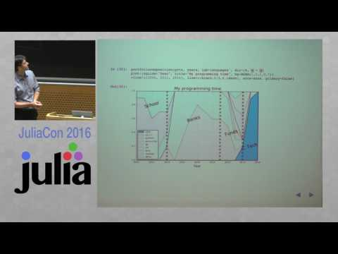 JuliaCon 2016 | Plots with Plots.jl (Workshop) | Tom Breloff