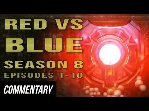 [Blind Reaction] Red vs. Blue - Season 8...
