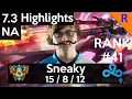 7.3 Highlights - C9 Sneaky (Lucian) 15-8-12 Lucian standard build