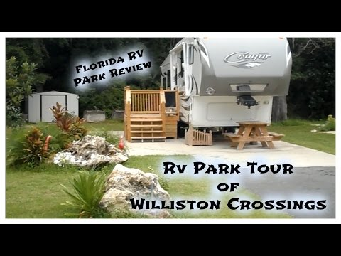 RV Travel Tour of Williston Crossings near Gainesville Florida ~ Good Sam Club Park