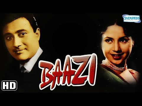Baazi (1951)   Dev Anand   Geeta Bali   Kalpana Kartik   Johnny Walker   Old Classic Movie