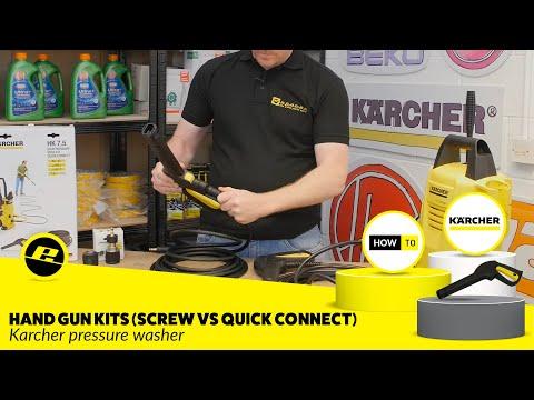 Karcher Hand Gun and Hose Kits