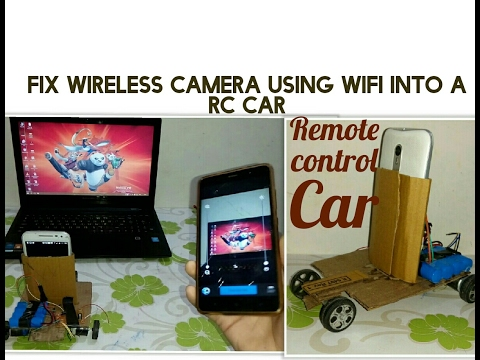 Rc Car With Wireless Camera How To Fix Wireless Camera Into A Rc