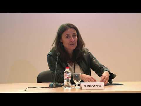 Cloenda del seminari a càrrec de Mercè Conesa, presidenta de la Diputació de Barcelona.