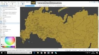 карта россии 2 часть