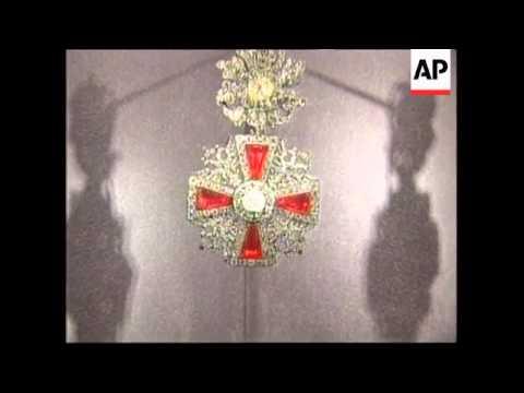 USA - Romanov dynasty jewelry on display