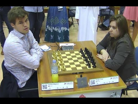 World Chess Champion Vs Best Female Chess Player!! Magnus Ca