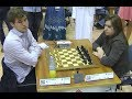 World Chess Champion Vs Best Female Chess Player!! Magnus Carlsen Vs Judit Polgar - Blitz Chess 2014