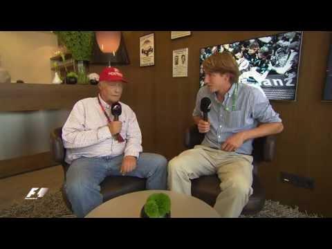 When Niki Lauda met Freddie Hunt