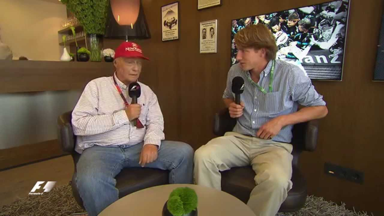When Niki Lauda met Freddie Hunt - YouTube