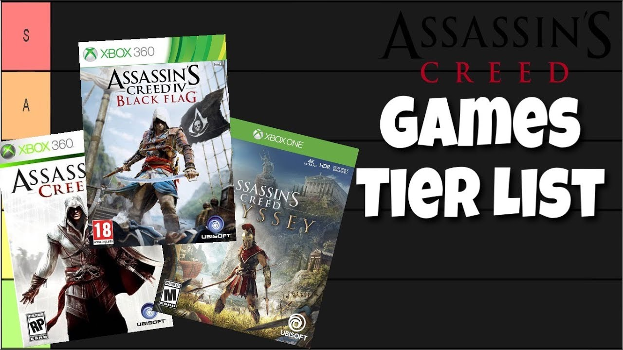 All Assassin S Creed Games Ranked Tier List Youtube