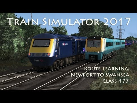 Train Simulator 2017 - Route Learning: Newport to Swansea (Class 175)