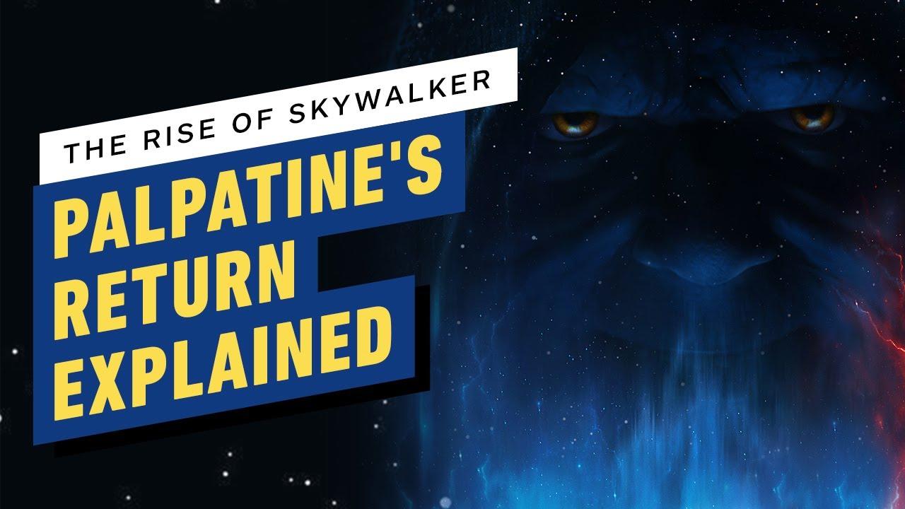 Star Wars: The Rise of Skywalker - Emperor Palpatine's Return ...