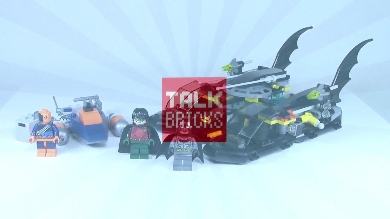 lego super heroes 76034 бэтмен преследование на лодке