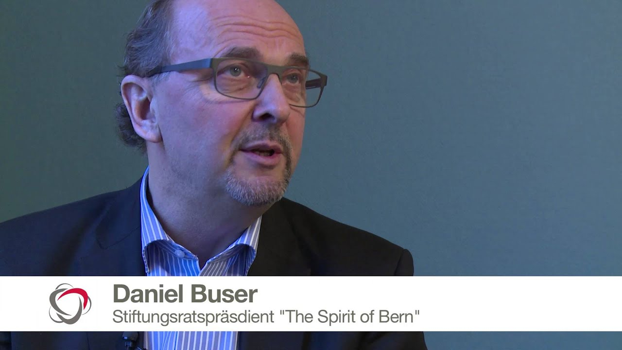 Vor dem Spirit of Bern | Prof. Dr. Daniel Buser - YouTube
