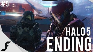 HALO 5 Walkthrough Part 5 - The End!