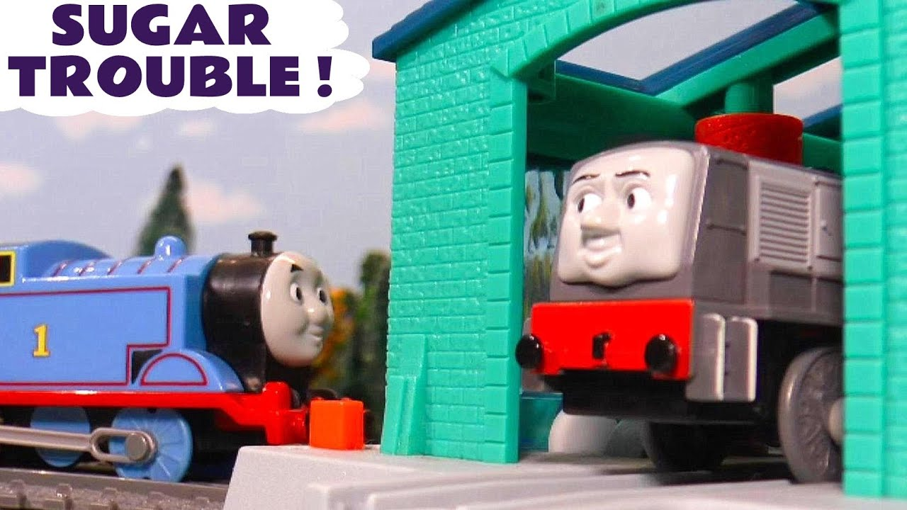Thomas and Friends Toy Train Dennis in Sugar Trouble Story with the funny Funlings TT4U