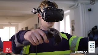Step Into Safety - A VR education and training program by OutHere and Skanska