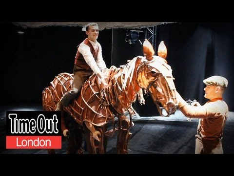 Behind the scenes at War Horse Dressing Room Confessions - YouTube