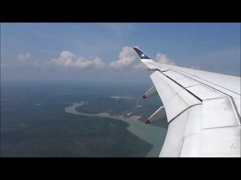 Singapore Airlines SQ957 Departing from Jakarta (CGK) to Singapore (SIN) on 9V-SMD Airbus A350-941