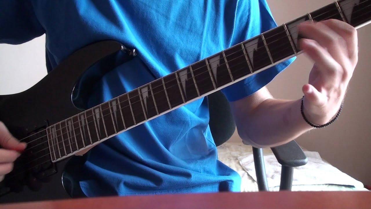 satyricon the pentagram burns guitar cover youtube