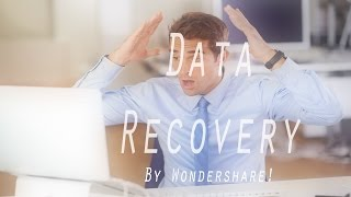 Wondershare Data Recovery: Recover Lost Files The EASY Way!