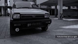 Project EV Conversion A selected gasoline vehicle was converted int...