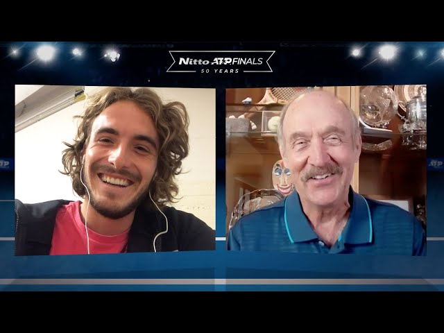 CHAMPIONS CHAT | Stefanos Tsitsipas & Stan Smith