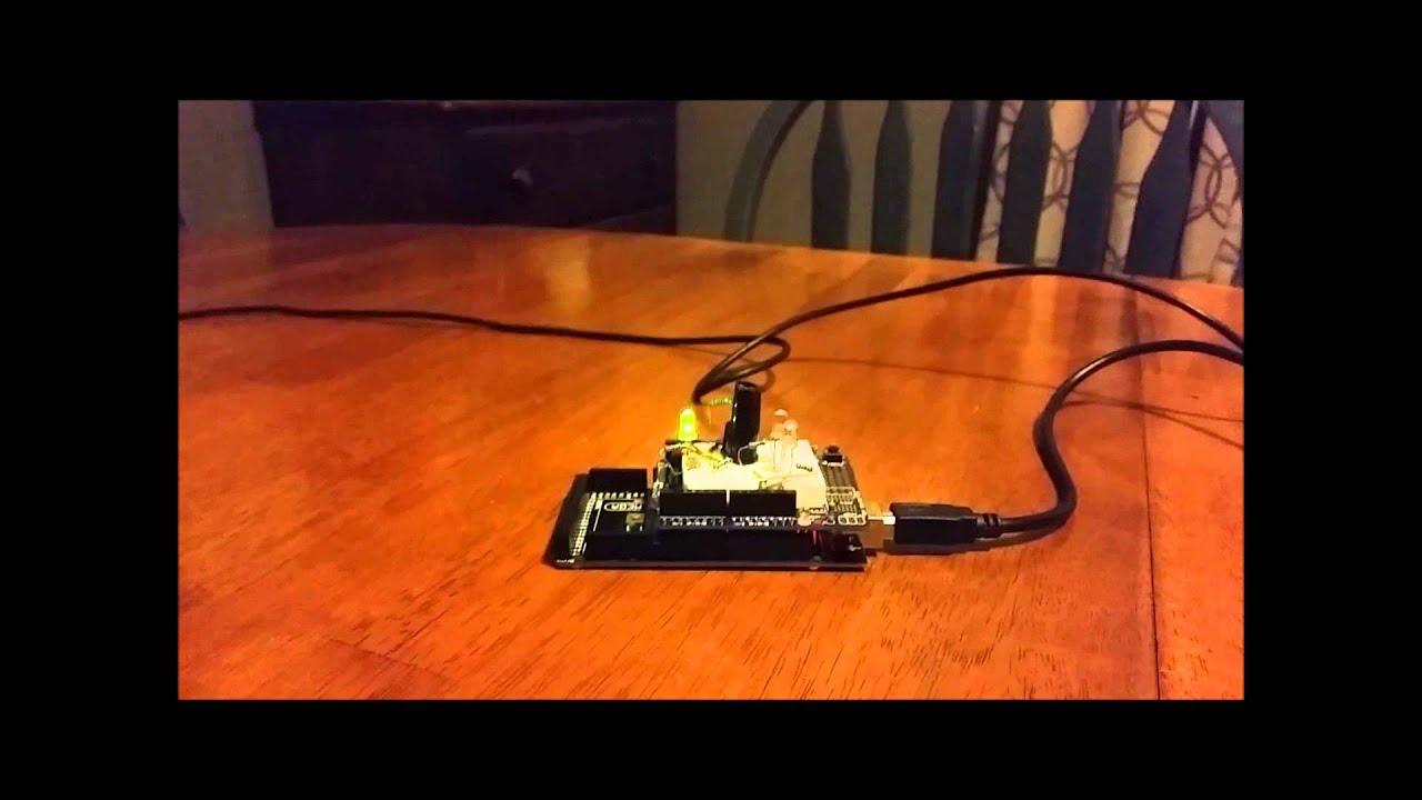ambient light sensor for automatic headlight control ece 470 project [ 1280 x 720 Pixel ]