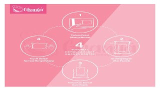 GHANYA Bantal Bulu Angsa Sintetis Polyester Bantal Hotel Bintang 5