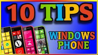 10 TIPS básicos para Windows Phone - WINPHON8