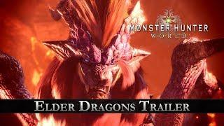 Старшие Драконы в новом трейлере игры Monster Hunter: World!