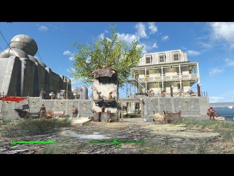 Large Warwick Homestead Settlement Fallout 4