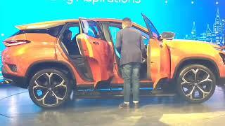 Tata H5X (45x) Concept SUV in Auto Expo 2018