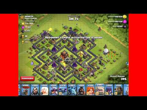 Clash of Clans mod (jailbreak) atacking first of the world!!! TROLL ATTACKS