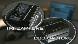 TRI-CAPTURE/DUO-CAPTURE USB Audio Capture Overview